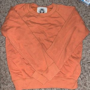 Orange Urban crewneck sweatshirt